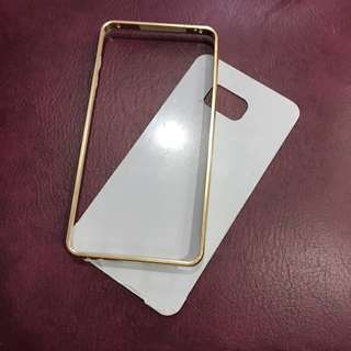 Gold Mirror Case for Note 5