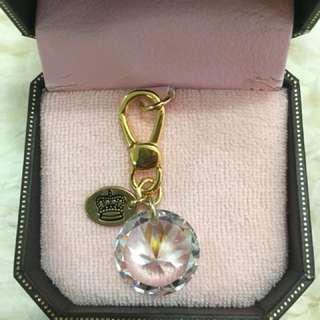 Juicy Couture 閃爆吊嘴 charm