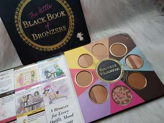 Authentic Too Faced The Little book of bronzers palette