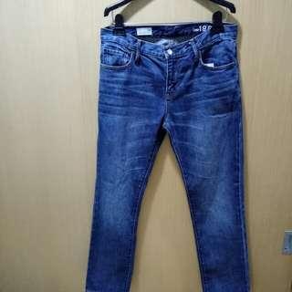 GAP [SEXY BOYFRIEND]淡藍色牛仔褲(26)