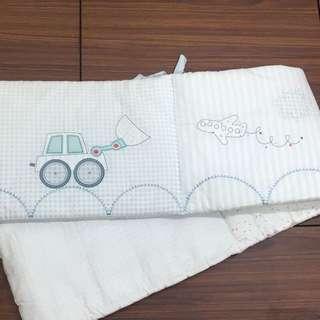 mothercare嬰兒床五件組