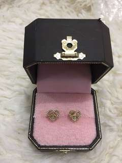 Juicy Couture ❤️❤️碎石耳環