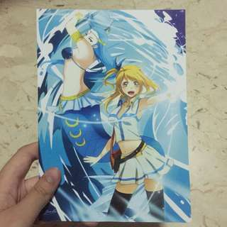 Fairy Tail Lucy and Aries Print