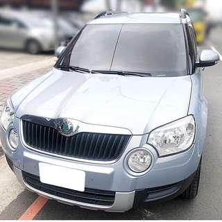 【購車無負擔‧買車夠保障】SKODA 2012年 YETI 頂級版 1.2藍 服務實在 值得信賴