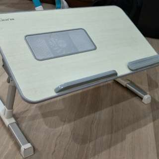 Foldable Laptop Table with build in cooling fan
