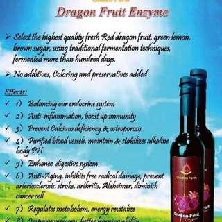 Dragon Fruit Enzyme - 500 ML