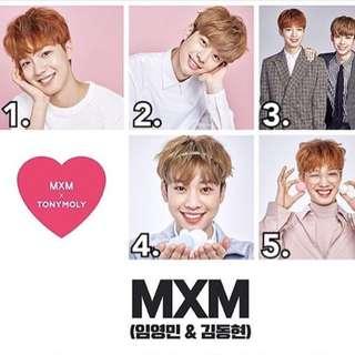 MXM x tony moly poster