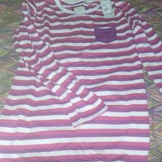 Branded nevada purple stripe top