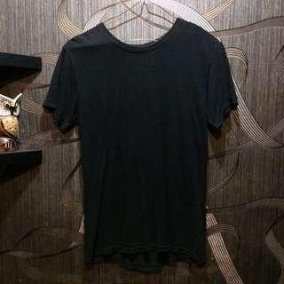RIDER Tshirt in black cotton