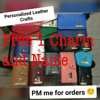 Personalised Leather Crafs