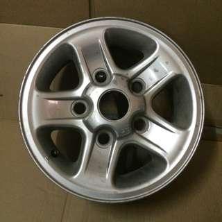 "Landrover Cromodord Wheel 16"" Made in U.K."
