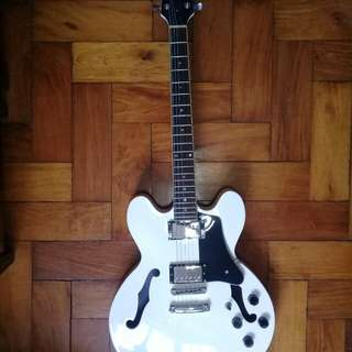 Rj ex3 semi-hollow guitar