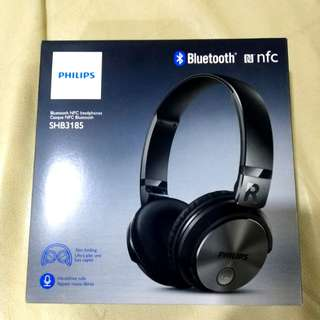 Philips Bluetooth NFC Headphones