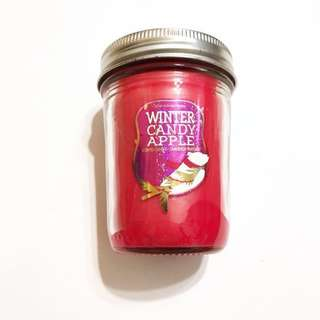 Bath and body works winter candy apple candle