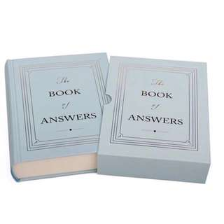 Book of Answers (with cover)