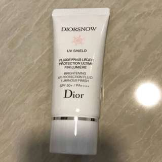 BN diorsnow UV shield screenscreen