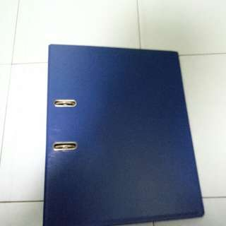 Blue Ring File (A4 Size)