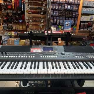 Keyboard Yamaha PSR S670+Adaptor Bisa Dikredit 0%