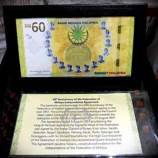 RM60 Commemorative Note