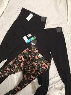Gym tights .individual or bundle size large /medium