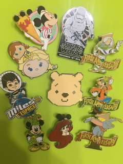 迪士尼襟章 Disney pin trading day
