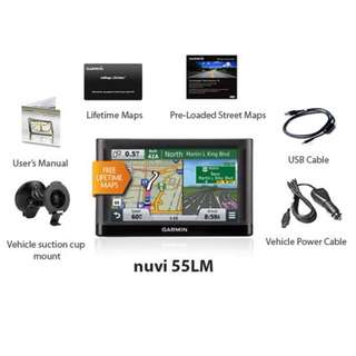 GPS Car Navigation – Garmin NUVI 55LM