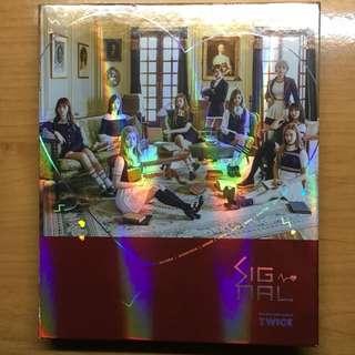 TWICE-Signel the 4th mini album