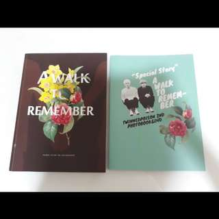 Hunhan Twinned Poison fansite photobook(A walk to remember)