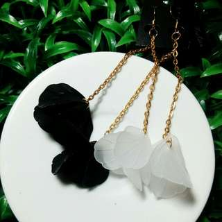 Anting Panjang Daun
