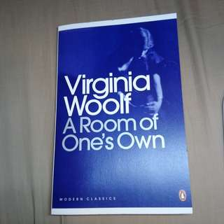 A Room of One's Own by Virginia Woolf *like new*