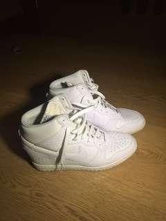 Nike Shoes High Wedge White