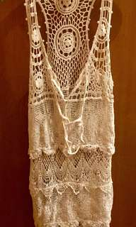 Knitted Dress/Cover up