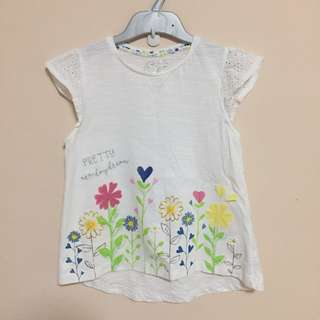 Brandnew Mothercare girls tee size 8 years