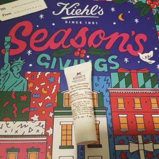 FOC NM $5.00/tube BN kiehl's hydro plumping re-texturizing serum concentrate 5ml