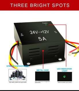 DC to DC Power Step Down Converter Transformer (24V to 12V) 5A/20A