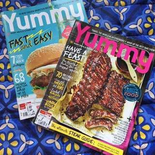 Yummy Magazine Back Issue 2015