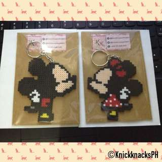 Minnie amd Mickey Keychains