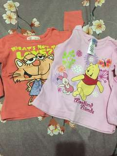 Character Long Sleeves for Babies