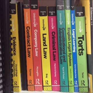 Law Books RM40-50 each!!!