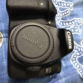 Canon 70d 單眼相機 單機身 2016年購入 公司貨