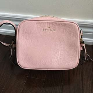 KATE SPADE NY Cedar Street Kenna Pink Leather Crossbody Bag