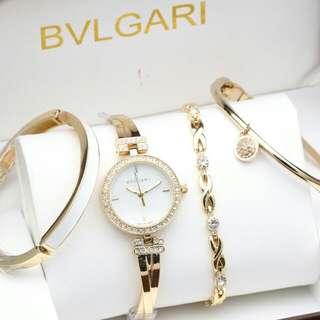 jam tangan Bvlgari Set