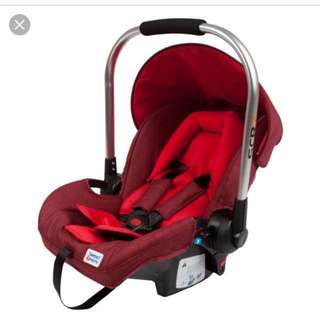 Sweet cherry SCR7 car seat carrier
