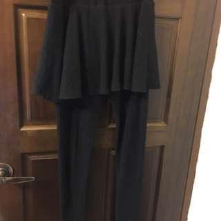 實用素色褲裙(有厚度) #換季五折