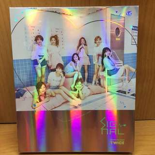 TWICE-Signal the 4th mini album