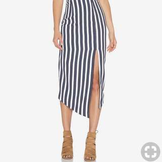 Shona Joy striped skirt