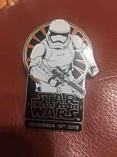 迪士尼徽章Star Wars星球大戰限量版le 1000 Disney pin trading