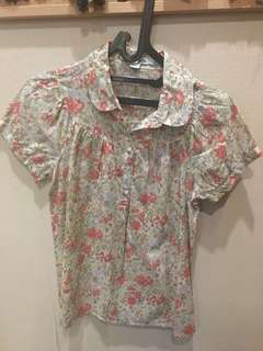 Top Forever21 floral