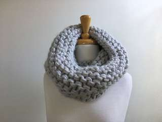 SEED Grey knitted Snood / Scarf