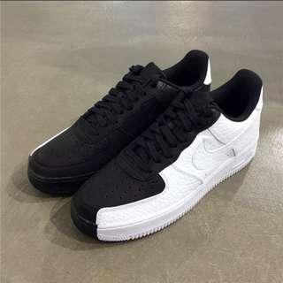 Nike耐克空軍壹號男鞋Air Force 1黑白陰陽低幫男士板鞋